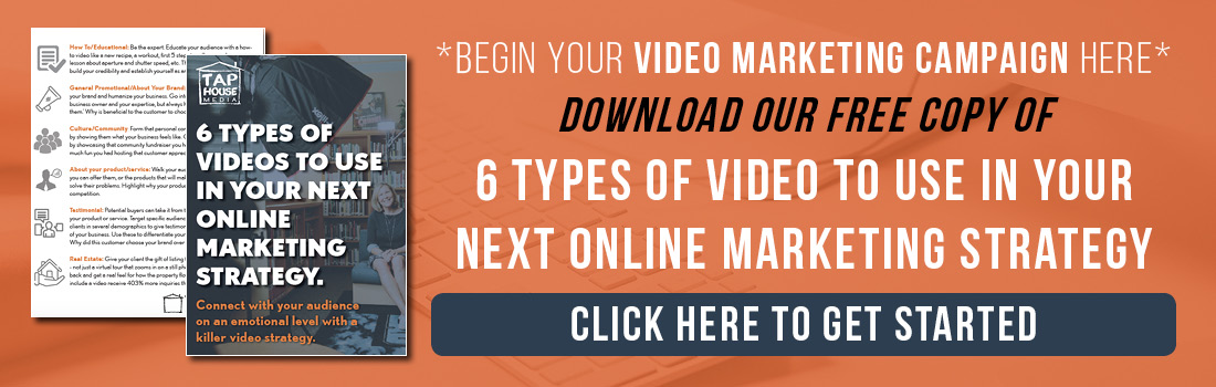 6 types of video to use in your online marketing
