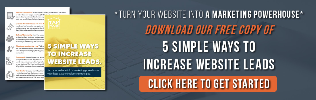 Increase Your Website Traffic, Tap House Media