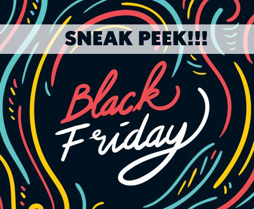 Black Friday specials 2017