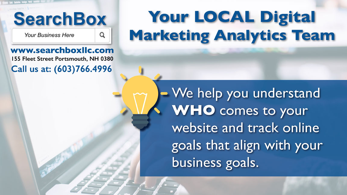 Searchbox marketing and analytics