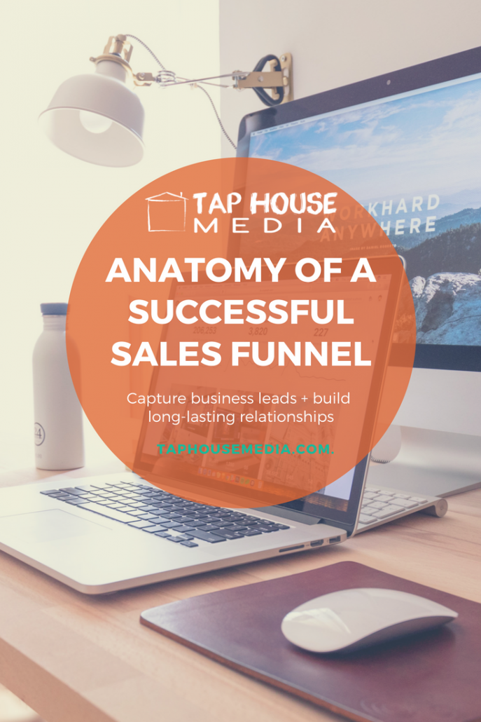 Anatomy of a Sales Funnel, Tap House Media