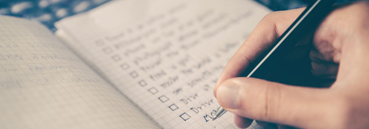 Home page checklist Tap House Media