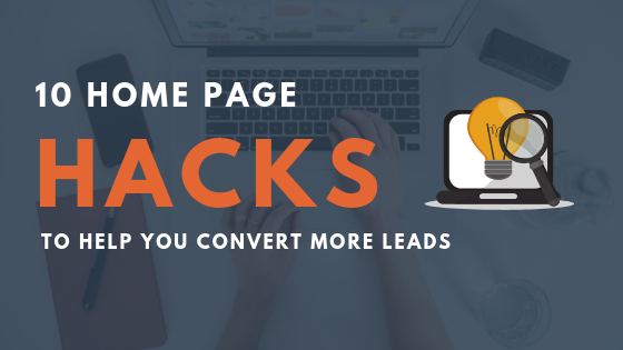 10 Home Page Hacks To Grow Your Online Presence