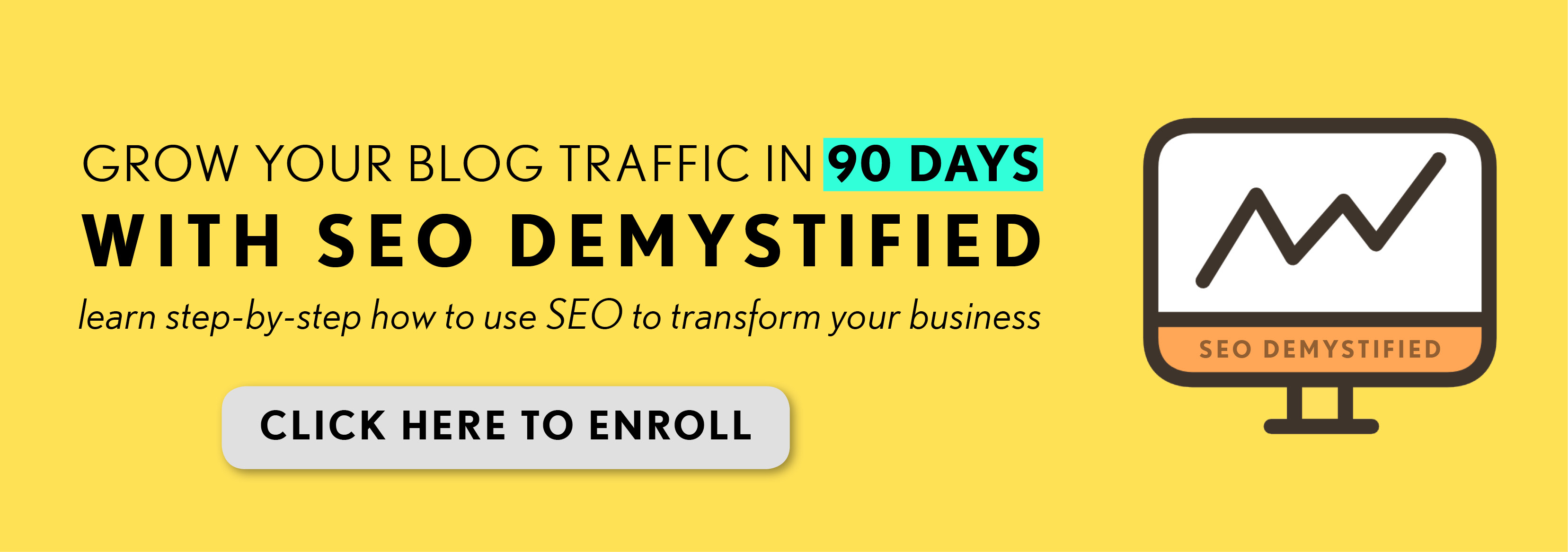 SEO Course To Grow Your Online Traffic