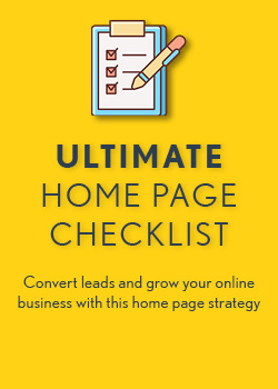 Ultimate Home Page Checklist