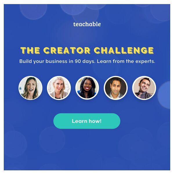 creator online course challenge