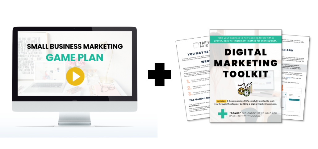 digital marketing workbook and video course