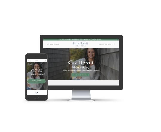 Kara Hewitt Nutrition Website